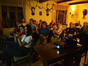 2. den - večerní promítání, foto F. Penders