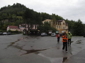 4. den - zahajujeme exkurzi do Teplic, foto R. Lienerth