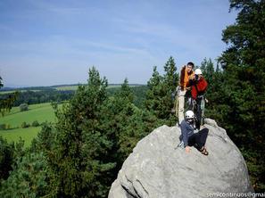 2. den - Křižák je pro seznámení ideální oblastí, foto J. Wiklund