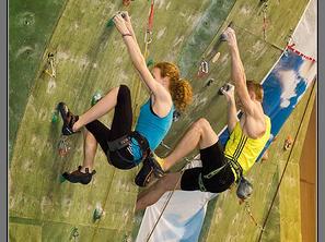 Sourozenci Křížovi - synchronizované lezení!: Autor: Monika Brkalová