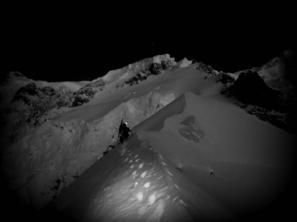 Ostruha Brenvy, Mont Blanc:
